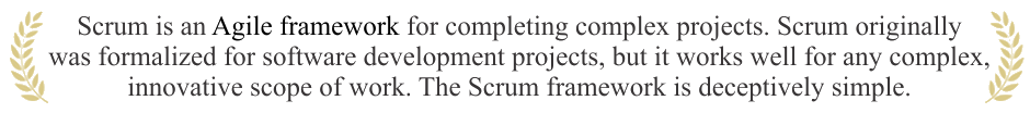 Scrum Quote
